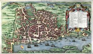 """1280px-""""Plan_de_Goa"""",_in_Histoire_générale_des_voyages,1750"""