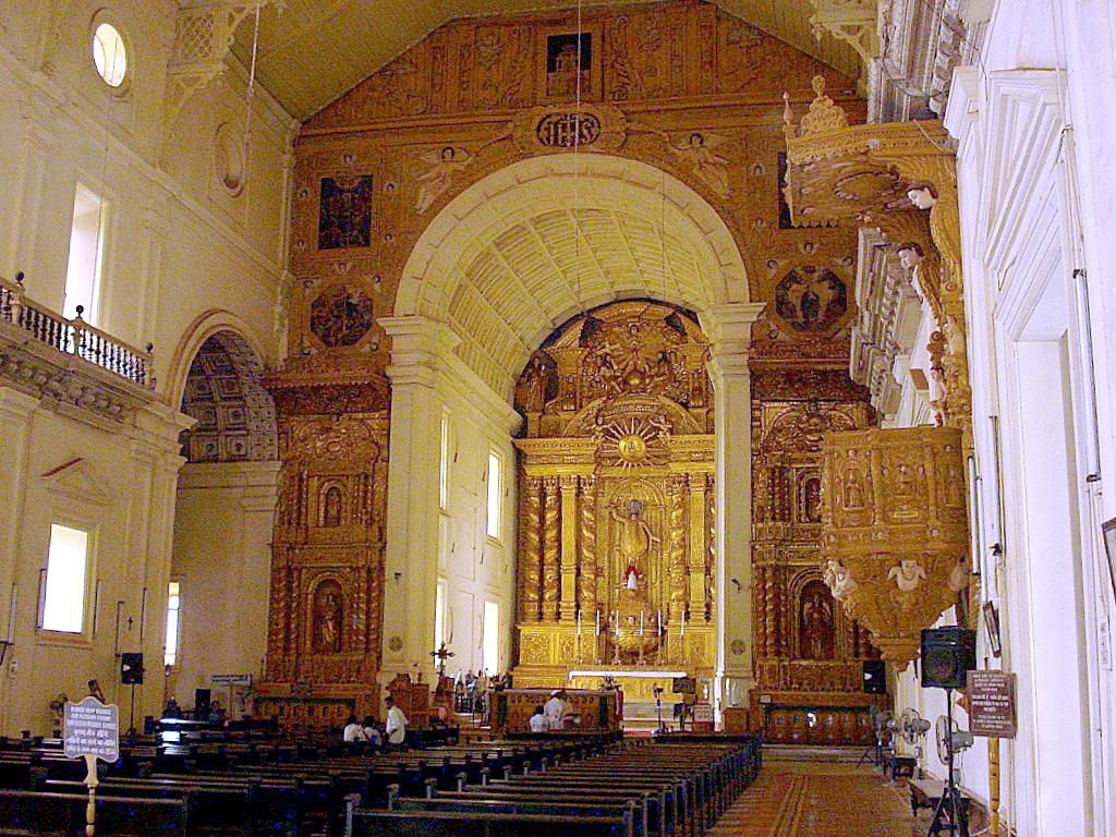 Basílica do Bom Jesus Altar